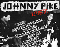 JOHNNY PIKE LIVE! POSTER