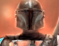 The Mandalorian official poster