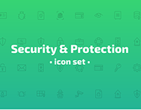Security & Protection icon set