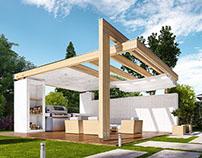 Projekty altan i grilów ogrodowych