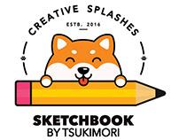 Logo - Sketchbook Tsukimori