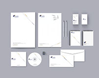 Mas International Co. Logo & Stationery