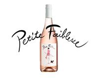 Förpackningsdesign vin - Petite Faiblesse Rosé