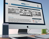 OUTWIT-IT - Logo and Website Design