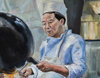 Chinese Takeout Painting Series