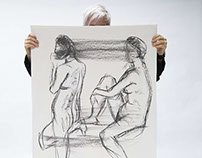 Life drawings // nudes