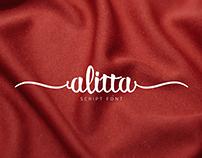 Alitta Easy Script Font