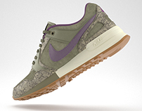 Nike air pegasus '89  3d model