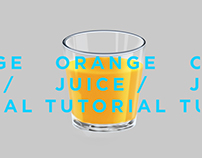Orange juice Tutorial in Adobe Photoshop