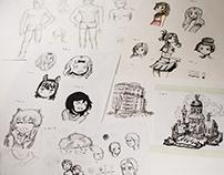 Sketches (Mar 2019 - Dec 2019)