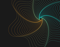 Geometric Line art Design