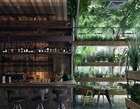 Wood Cafe Design