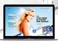 South Surf - Web Concept