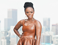 Unathi Msengana Covers Bona Magazine May 2015