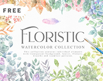 FREE GRAPHICS - Watercolor Collection