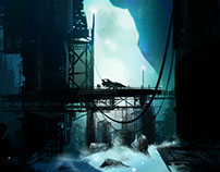 Sci-Fi scenes & landscape