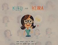 Kleo and Klara Sticker
