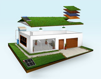 BUILDING A SUSTAINABLE HOUSE