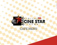 Cine Star Cafe Menu