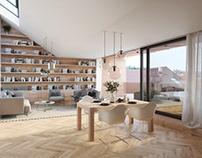 Apartment house. IDHEA ARCHITECTS.