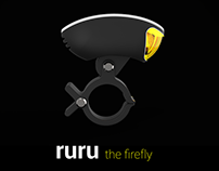 RURU the bicycle front LED light