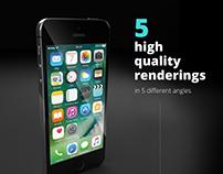 5 Free iPhone Mockups