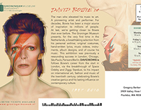 David Bowie Is | Postcard