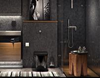Bathroom. Apartments in Saint Petersburg, RU