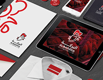 ALBARAKA logo and corporate identity design