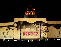 Video Mapping Herdez