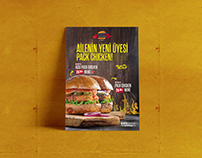 PACKET BURGER AFİŞLER
