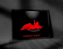 Launch night Poster for Team Swinburne Formula SAE