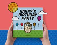 Harry's Birthday Party | Children's Book