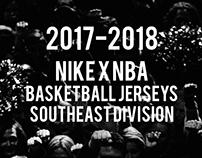 2017-2018 Nike x NBA Jersey's Southeast