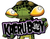 Kaeru-Boy is a manga fueled comic.
