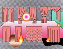 Illustration for Dwutygodnik Magzine