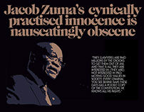 Obscenity of the guilty playing innocent = South Afric