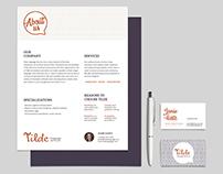 Tilde Language Services - Visual Identity Case Study