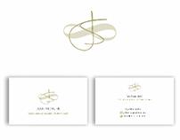 logo and business card design for Jade Stoner