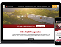 DriveKnight - Driver Recruiter Website