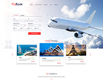 Flight and Hotel Booking Web Design 1