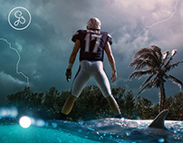 LA Chargers - NFL 2019/20 Gameday Graphic