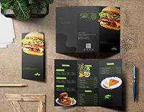 BurgerGood trifold menu