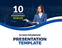 Free 10 Powerfull Powerpoint Template