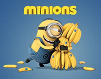 Minions Website Concept
