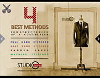 4 BEST METHODS FOR STRUCTURING OF A COAT/BLAZER