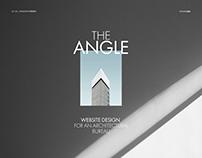 Website design for an architectural bureau