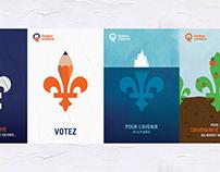 Québec solidaire - Affiches