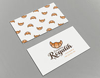 Identity design for pastry shop - Rogalik