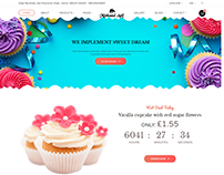 Cake Bakery HTML Website By Minhazul Asif